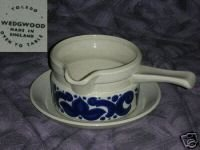 Wedgwood Toledo Gravy Boat with Underplate