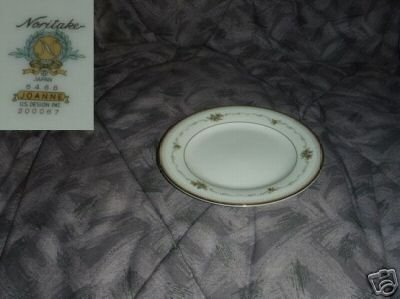 Noritake Joanne 4 Bread and Butter Plates