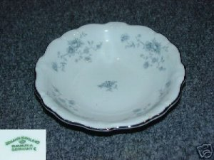 Johann Haviland Bavaria Blue Garland 4 Fruit Bowls