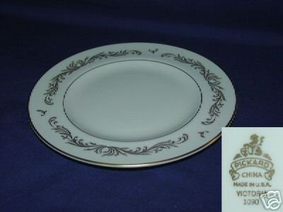 Pickard Victoria 4 Bread and Butter Plates