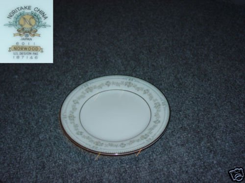 Noritake Norwood 2 Bread and Butter Plates