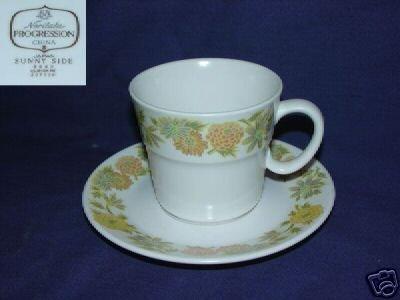 Noritake Sunny Side 4 Cup & Saucer Sets