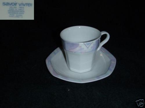Savoir Vivre Celina 5 Cup and Saucer Sets