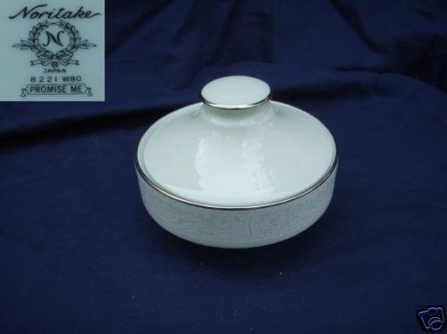 Noritake Promise Me - Green 1 Sugar Dish ( Bowl )