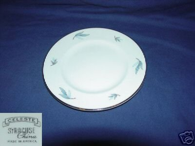 Syracuse Celeste 4 Bread and Butter Plates