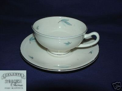 Syracuse Celeste 4 Cup and Saucer Sets