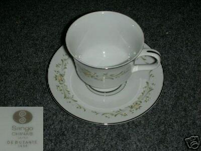 Sango Debutante 4 Cup and Saucer Sets