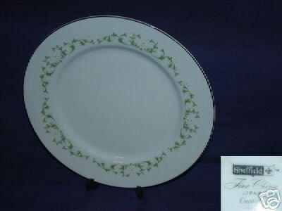 Sheffield Elegance 4 Dinner Plates