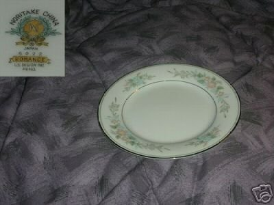 Noritake Romance 4 Bread and Butter Plates