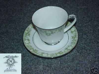 Noritake Princeton 4 Cup and Saucer Sets
