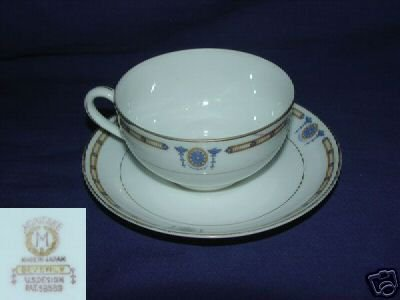 Noritake Beverly 4 Cup and Saucer Sets