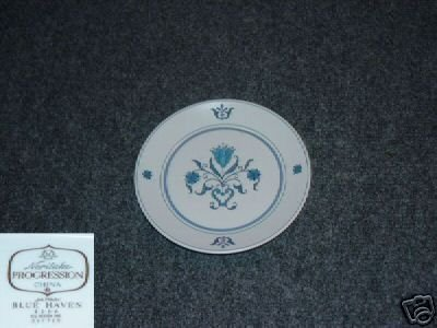 Noritake Blue Haven 4 Bread and Butter Plates