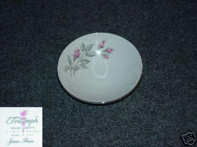 Homer Laughlin Triumph June Rose 4 Fruit Bowls