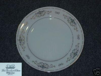 Fine China of Japan Diane 5 Dinner Plates