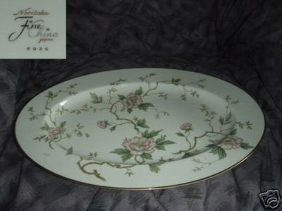 Noritake Pattern 6935 Oval Serving Platter - 17 1/4""