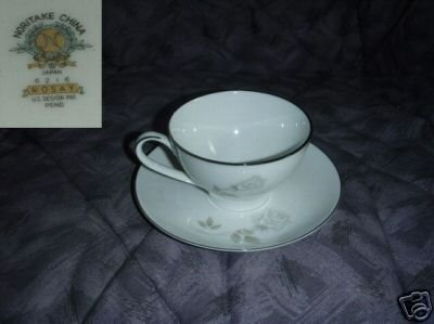 Noritake Rosay 4 Cup and Saucer Sets
