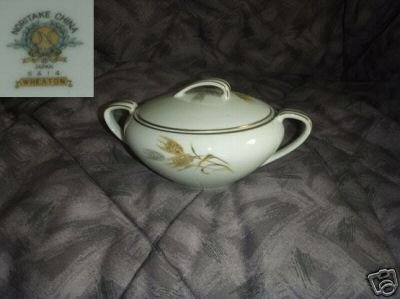 Noritake Wheaton 1 Sugar Dish ( Bowl ) with Lid