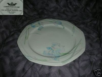 Christopher Stuart Blue Eyes 1 Chop Plate Round Platter
