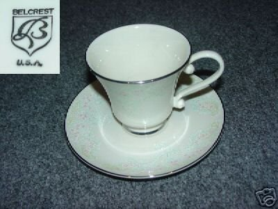 Belcrest Brocade 3 Cup and Saucer Sets