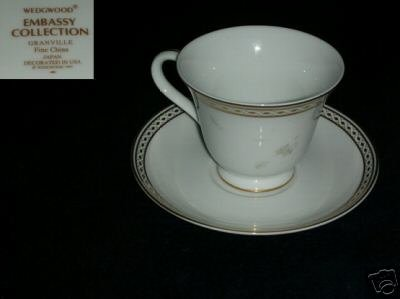 Wedgwood Granville 2 Cup and Saucer Sets