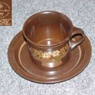 Royal Doulton Basque 1 Cup and Saucer Set - MINT