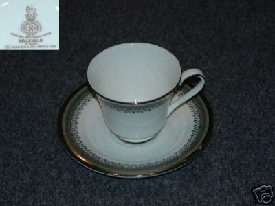 Royal Doulton Braemar 1 Cup and Saucer Set - MINT