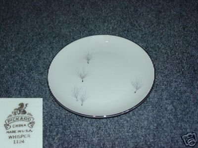 Pickard Whisper 4 Bread and Butter Plates