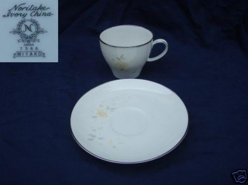 Noritake Miyako 3 Cup and Saucer Sets