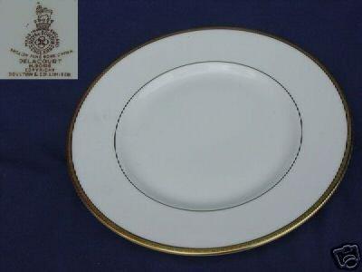 Royal Doulton Delacourt 4 Salad Plates MINT