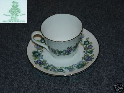 Royal Doulton Espirit 1 Cup and Saucer Set - MINT