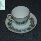 Royal Doulton Espirit 1 Cup and Saucer Set - MINT