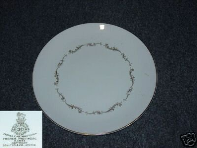 Royal Doulton French Provincial 4 Dinner Plates