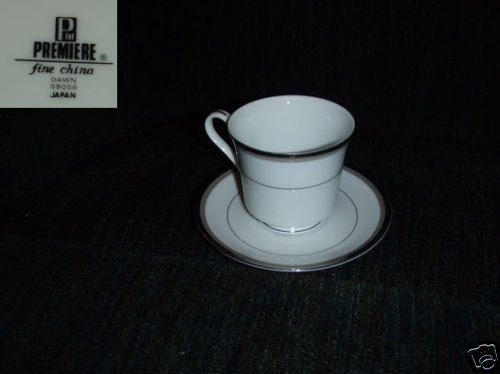 Premiere Dawn 4 Cup and Saucer Sets