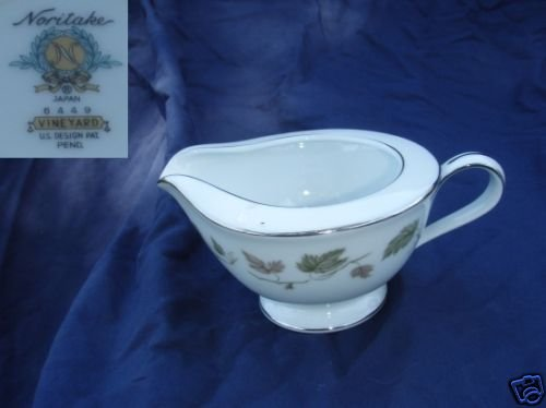 Noritake Vineyard 1 Cream Pitcher ( Creamer )