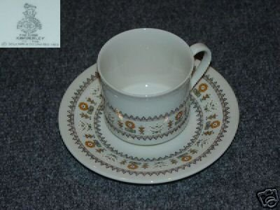 Royal Doulton Kimberley 1 Cup and Saucer Set - MINT