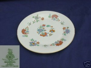 Royal Doulton Madrigal 4 Dinner Plates - MINT