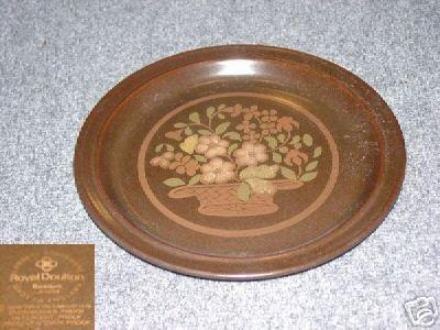 Royal Doulton Basque 1 Dinner Plate - MINT