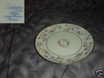 Lamberton Reverie 4 Bread and Butter Plates