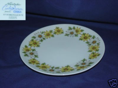 Noritake Marguerite 6 Bread and Butter Plates