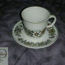 Noritake Tressa 6 Cup and Saucer Sets