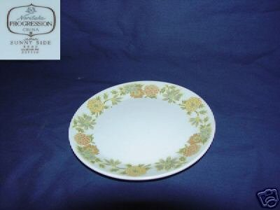Noritake Sunny Side 5 Bread and Butter Plates