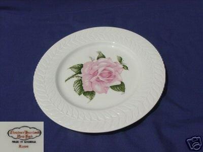 Theodore Haviland New York Rose 2 Dinner Plates - MINT