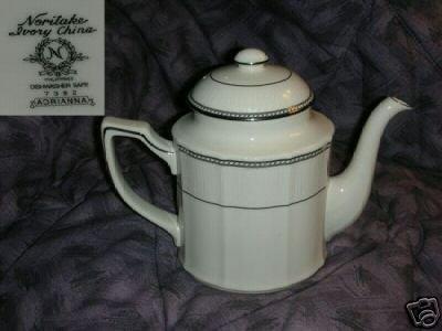 Noritake Adrianna 1 Coffee Pot / Tea Pot with Lid