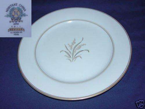 Noritake Neville 2 Dinner Plates - MINT