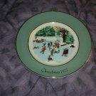 Wedgwood Avon 1975 Christmas Plate