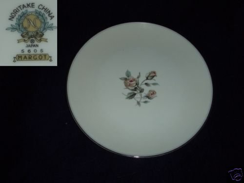 Noritake Margot 4 Salad Plates