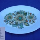 "Royal Doulton Forest Flower 1 Platter 13"" x 10""  - MINT"