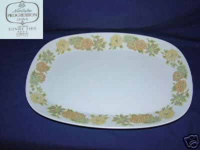 Noritake Sunny Side Oval Platter
