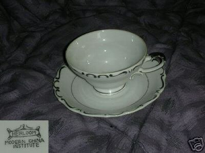 Modern China Heirloom 5 Cup and Saucer Sets