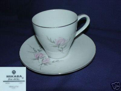 Mikasa Genevieve 1 Cup and Saucer Set